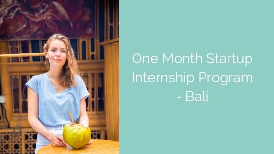 My Social Enterprise Internship in Bali