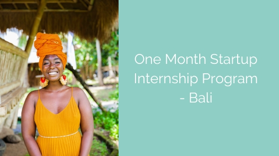 One Month with a Blockchain Startup in Bali
