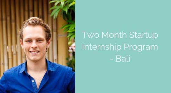 Two Months as a Machine Learning Engineer in Bali