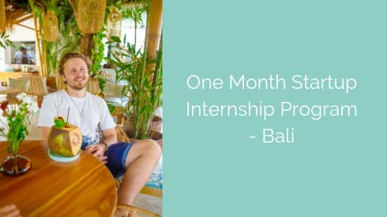 Interning for a Fintech Startup in Bali